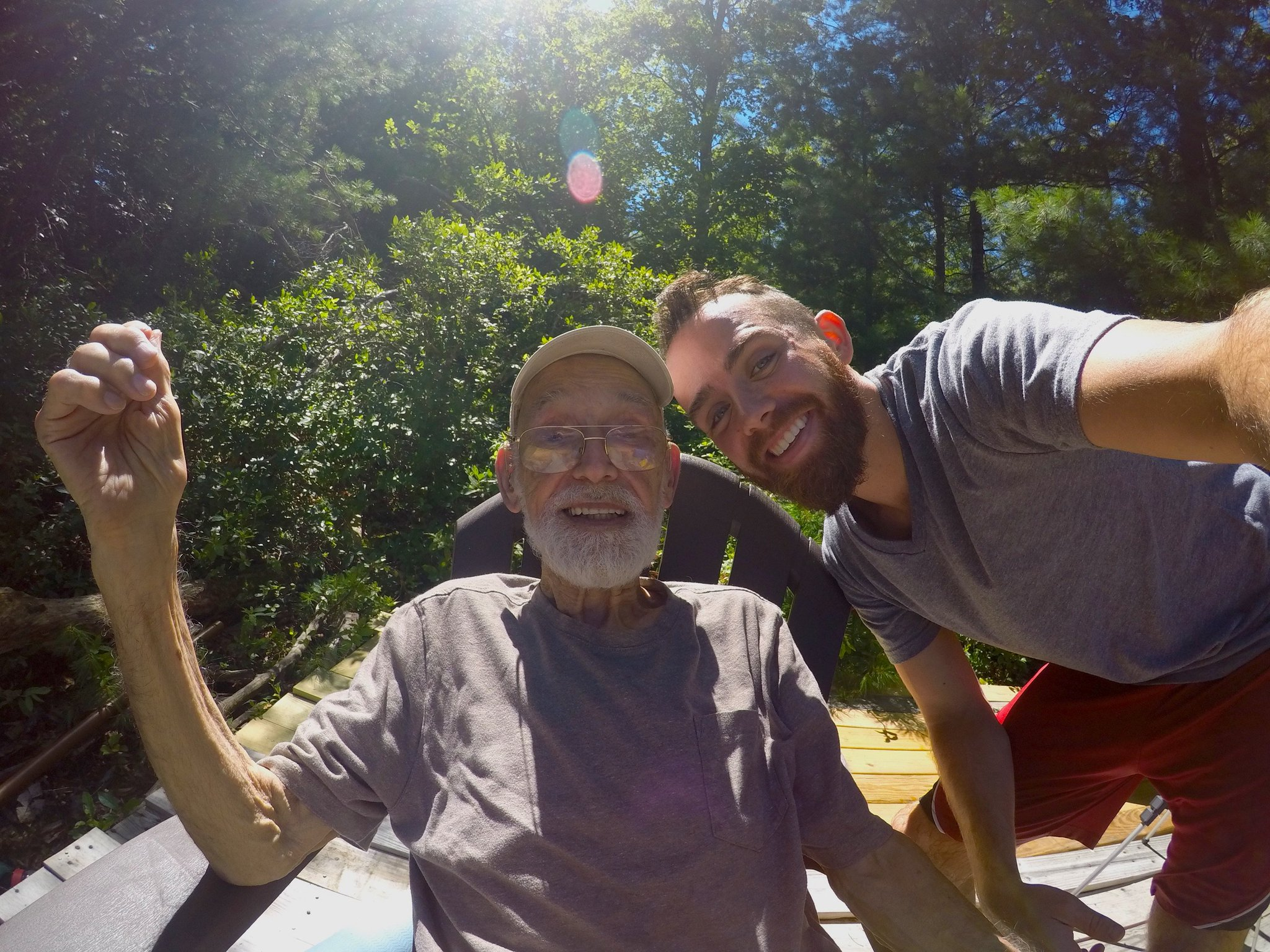 Learning About Happiness From My 94-Year-Old Grandpa - NanaGram