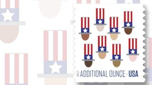 2017 Uncle Sam Additional Ounce Stamps