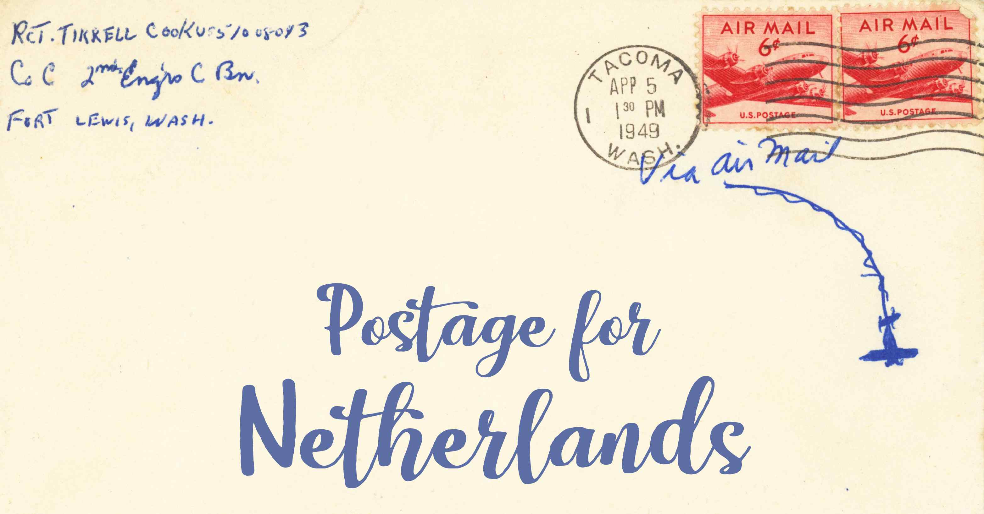Postage To The Netherlands First